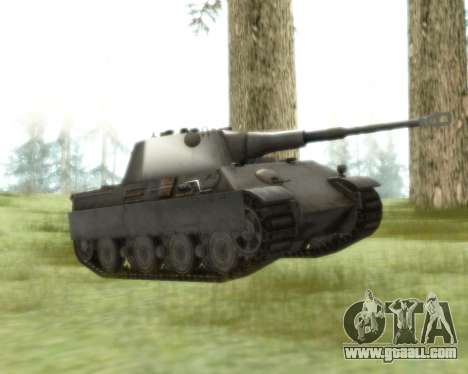 Pzkpfw V Panther II for GTA San Andreas left view