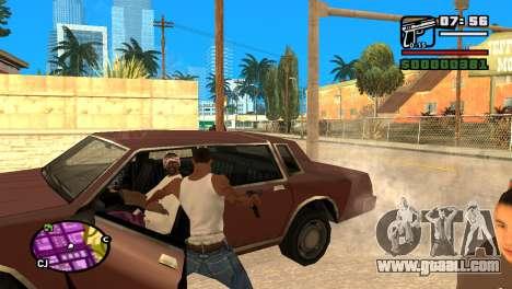 Semi-automatic pistol for GTA San Andreas forth screenshot