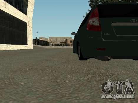 VAZ-2171 for GTA San Andreas inner view