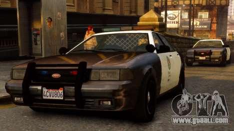 GTA V Police Cruiser for GTA 4