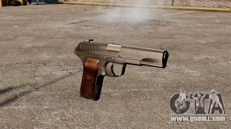 TT-33 semi-automatic pistol for GTA 4
