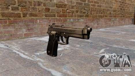 Beretta M92FS Pistol for GTA 4