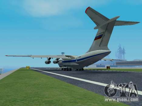 Il-76td v1.0 for GTA San Andreas back view