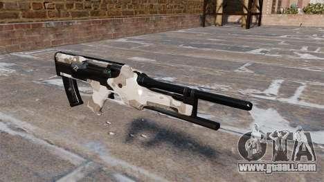 Feline submachine gun for GTA 4