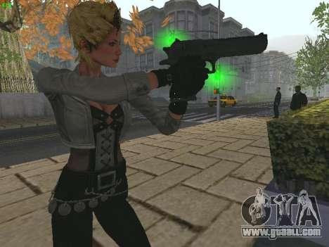 Juliet Starling for GTA San Andreas third screenshot