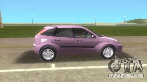 Ford Focus SVT for GTA Vice City left view