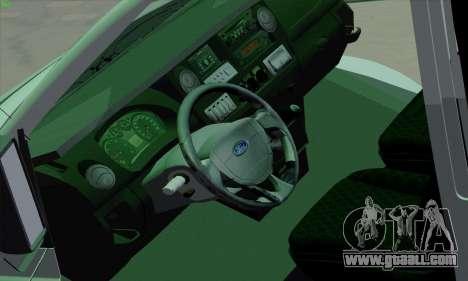 Ford Transit Jumgo for GTA San Andreas interior