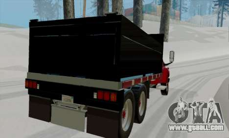 GMC C4500 Topkick for GTA San Andreas back left view