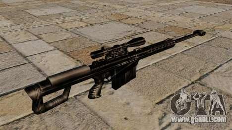 The Barrett M82 sniper rifle for GTA 4 second screenshot