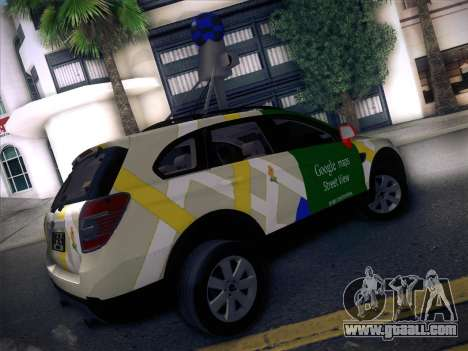 Chevrolet Google Street View Chile for GTA San Andreas back left view