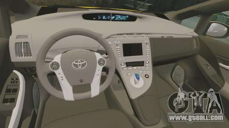 Toyota Prius 2011 Adelaide Independant Taxi for GTA 4 inner view