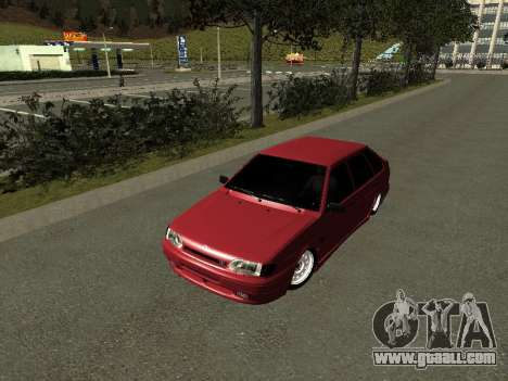 Ваз 2114 BPAN for GTA San Andreas left view