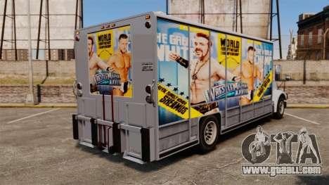 Stars of wrestling on Benson for GTA 4 back left view