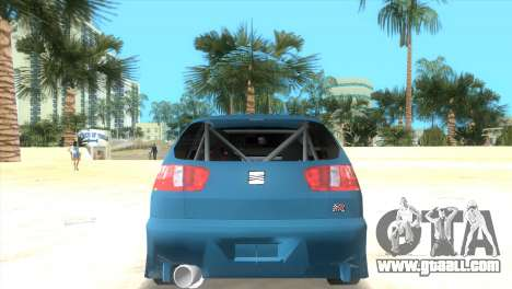 Seat Ibiza GT for GTA Vice City left view