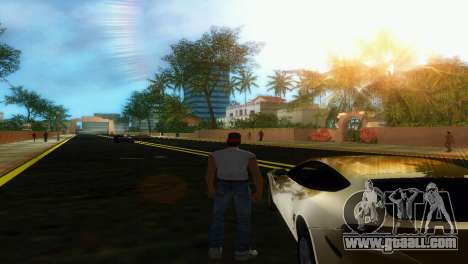 New roads Starfish Island for GTA Vice City forth screenshot