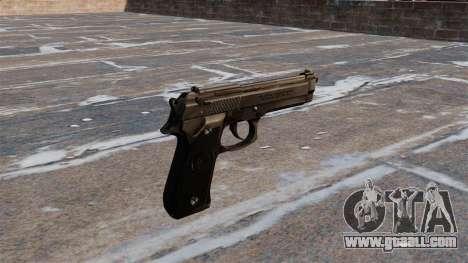 Beretta M92FS Pistol for GTA 4 second screenshot