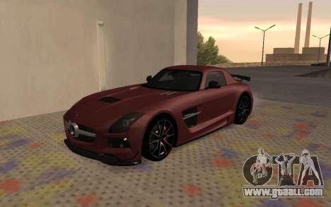 Mercedes-Benz SLS AMG 2013 Black Series for GTA San Andreas left view