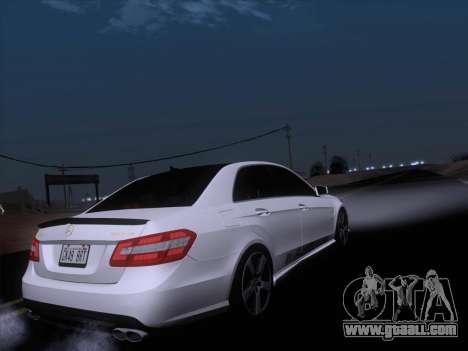 Mercedes-Benz E63 AMG 2011 Special Edition for GTA San Andreas interior