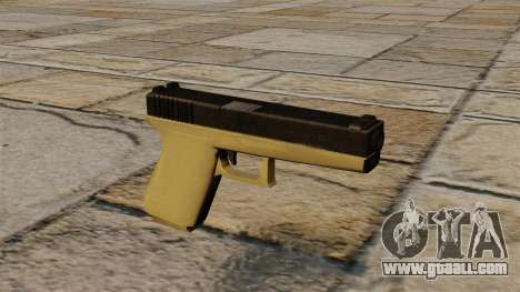 Bicoloured Glock for GTA 4