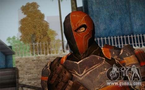 Deathstroke from Batman: Arkham Origins for GTA San Andreas