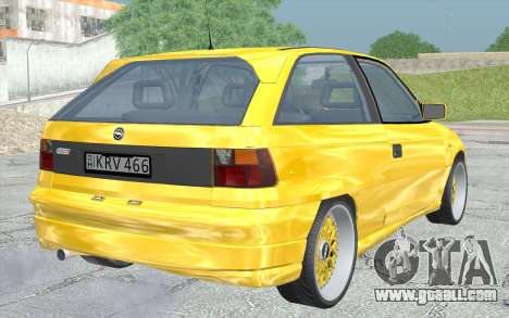 Opel Astra F GSI BBS Style for GTA San Andreas left view