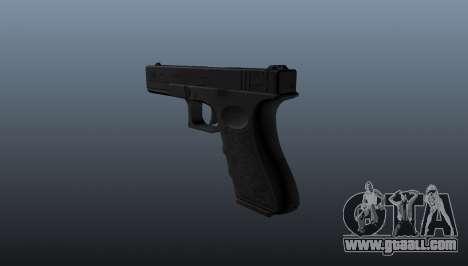 Glock 18 machine pistol for GTA 4 second screenshot