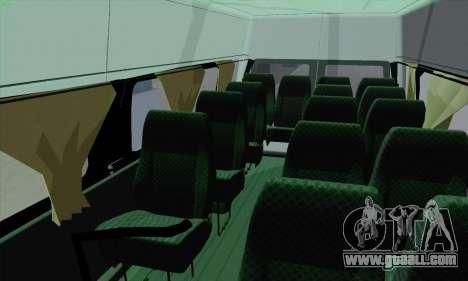 Ford Transit Jumgo for GTA San Andreas bottom view