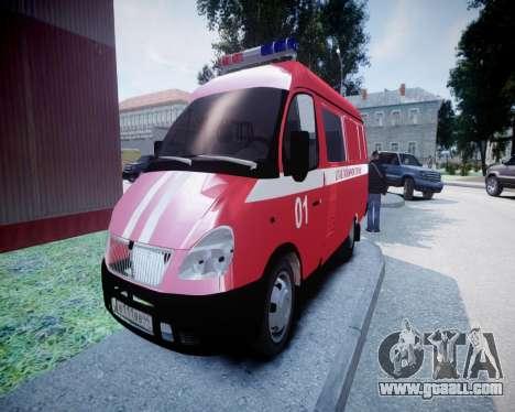 Gazelle 2705 Fire Headquarters for GTA 4
