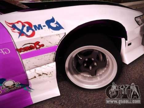 Nissan S13 Burst for GTA San Andreas interior