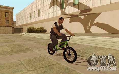 BMX for GTA San Andreas side view