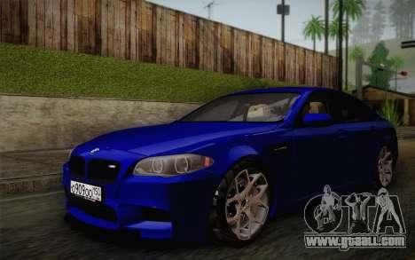 BMW M5 F10 v2 for GTA San Andreas