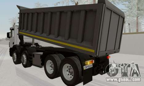 Scania P420 for GTA San Andreas left view