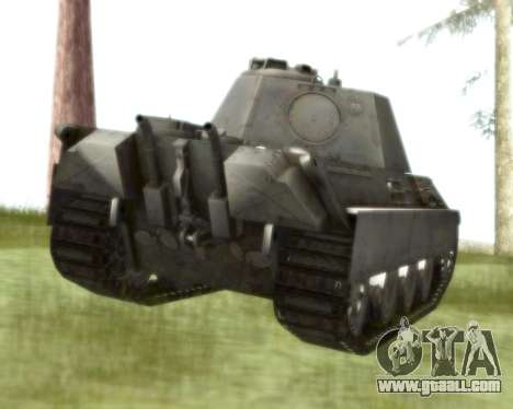 Pzkpfw V Panther II for GTA San Andreas right view