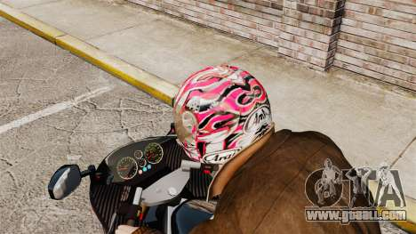 A collection of helmets Arai v2 for GTA 4 forth screenshot