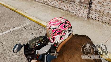 A collection of helmets Arai v2 for GTA 4 forth screenshot