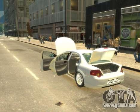 GAZ Volga Sajber for GTA 4 right view