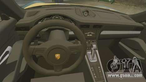 Porsche 911 Turbo 2014 [EPM] Alpinestars for GTA 4 inner view