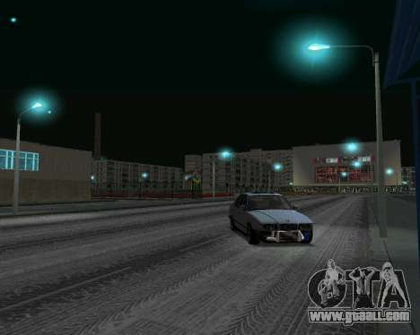 BMW 5 E34 cramps-er for GTA San Andreas back left view