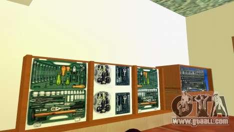 Shop tools for GTA Vice City third screenshot
