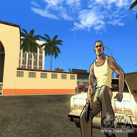 New HD Loadscreen for GTA San Andreas