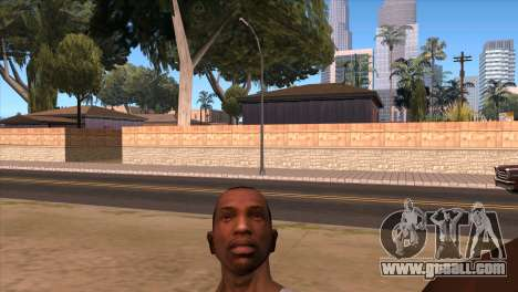 The camera in GTA V for GTA San Andreas