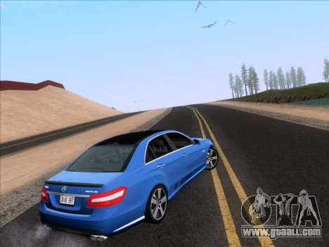 Mercedes-Benz E63 AMG 2011 Special Edition for GTA San Andreas left view