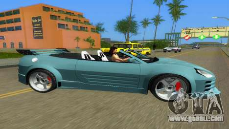 Mitsubishi Eclipse GT 2001 for GTA Vice City left view