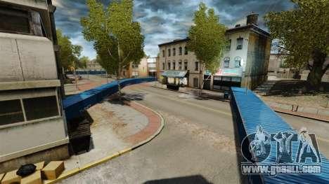 Drift around the city for GTA 4 third screenshot
