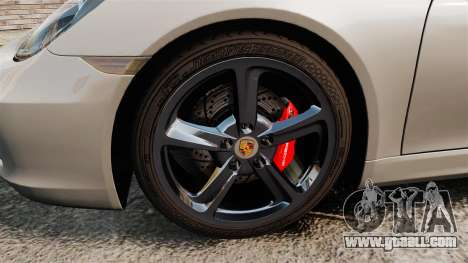 Porsche Cayman S 981C for GTA 4 back view