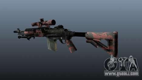 Sniper rifle M21 Mk14 v5 for GTA 4 second screenshot