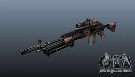 Sniper rifle M21 Mk14 v5 for GTA 4