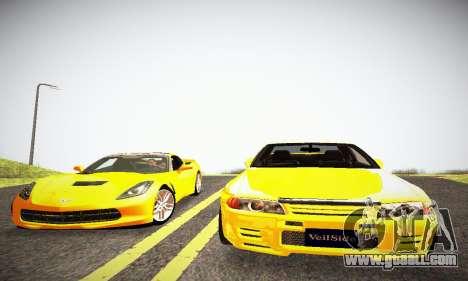 Nissan Skyline R32 GT-R for GTA San Andreas back view