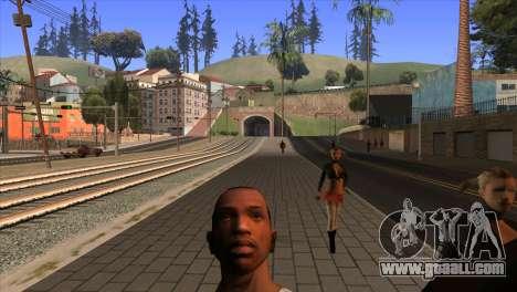 The camera in GTA V for GTA San Andreas third screenshot