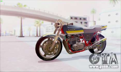 Kawasaki Z-400FX Custom for GTA San Andreas